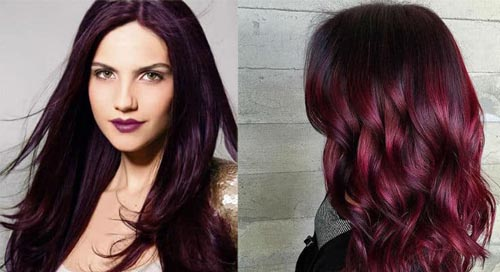 Best black cherry hair color - Layla Hair Extensions
