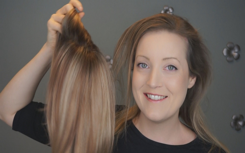 How To Appropriately Use Human Hair Toppers For Thinning Hair