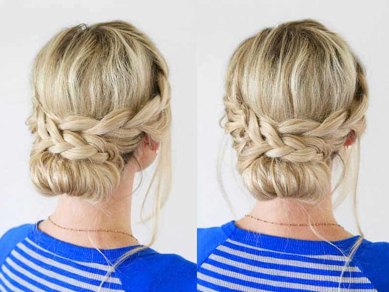 10 Stunning Updos For Short Hair That Will Definitely Turn Heads!