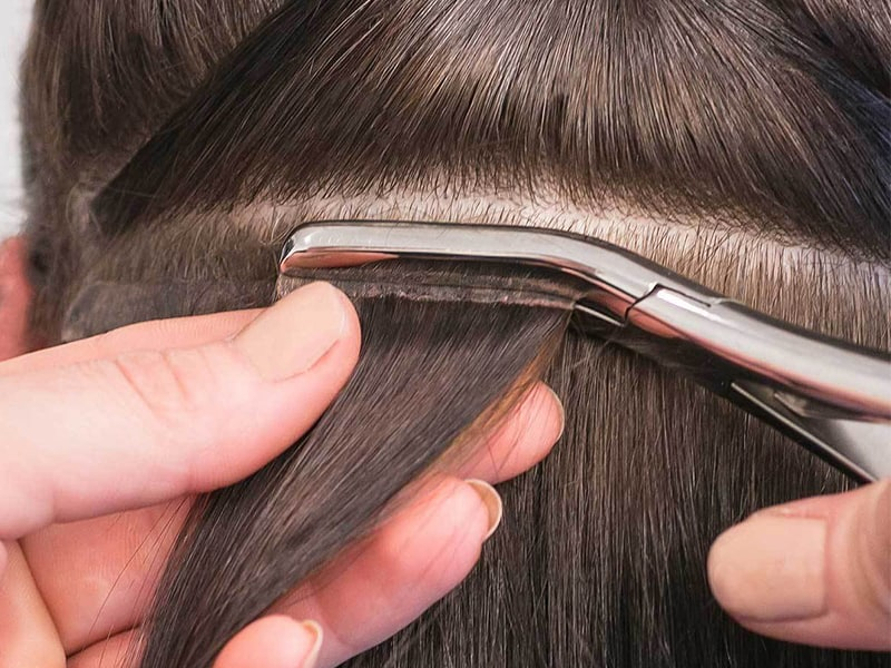 Wondering How To Blend Tape In Extensions With Your Hair? Read This!