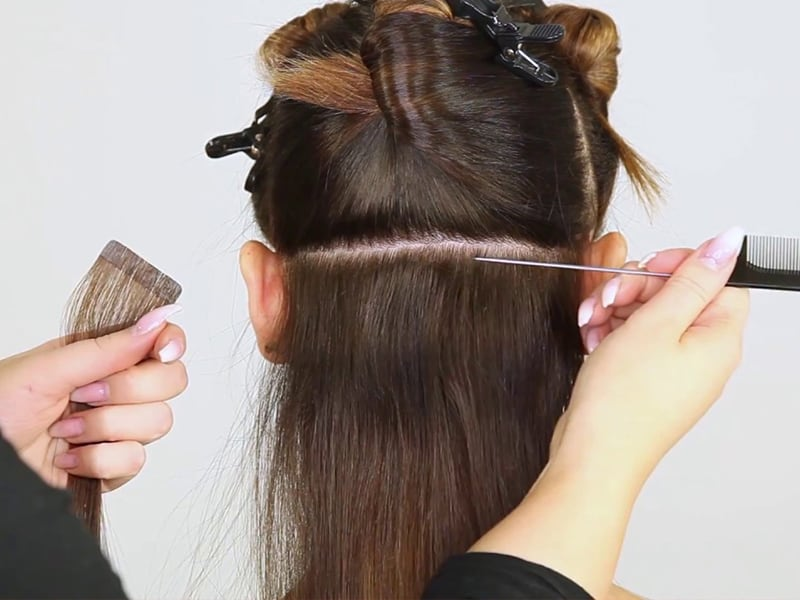 Wondering How To Make Skin Weft Hair Extensions? Here's The Secret!