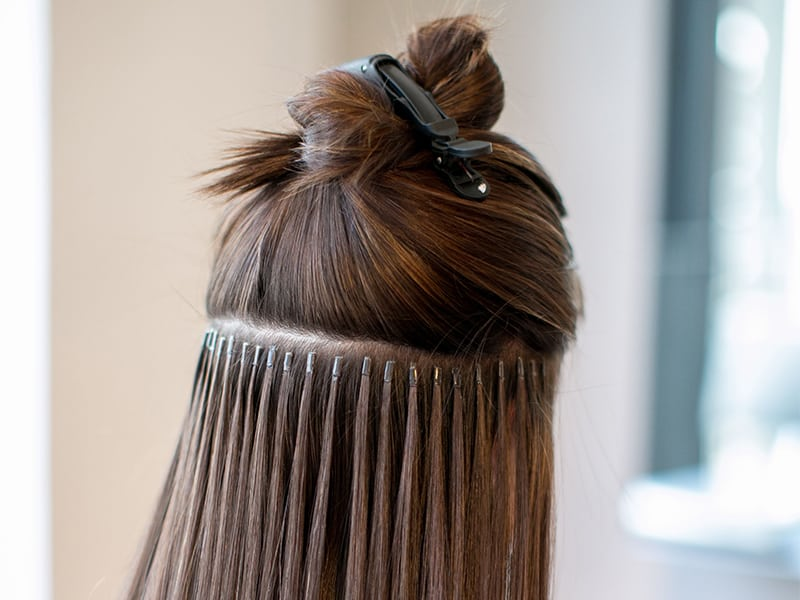 How To Glue In Hair Extensions: The Easy Way Out!