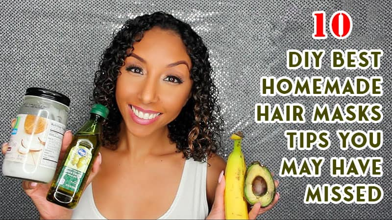 [DIY] 10 Best Homemade Hair Masks You May Have Missed