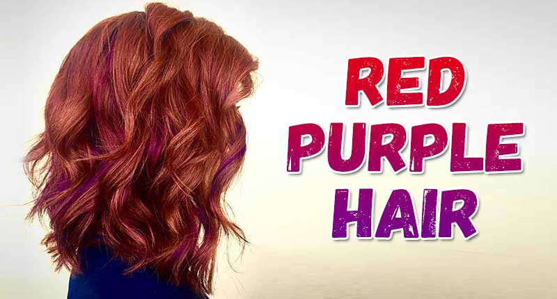 Red Purple Hair: These Shades Of Burgundy Hair Will Be Huge This Year