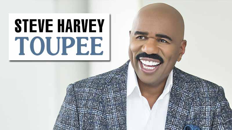 Steve Harvey Toupee: He Used To Wear Hair System!