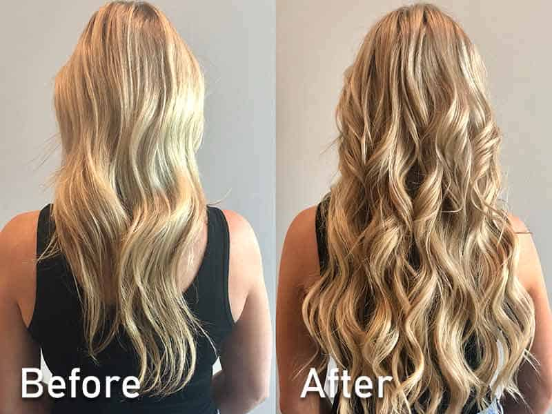 Wire Hair Extensions - It Works Under These Conditions!