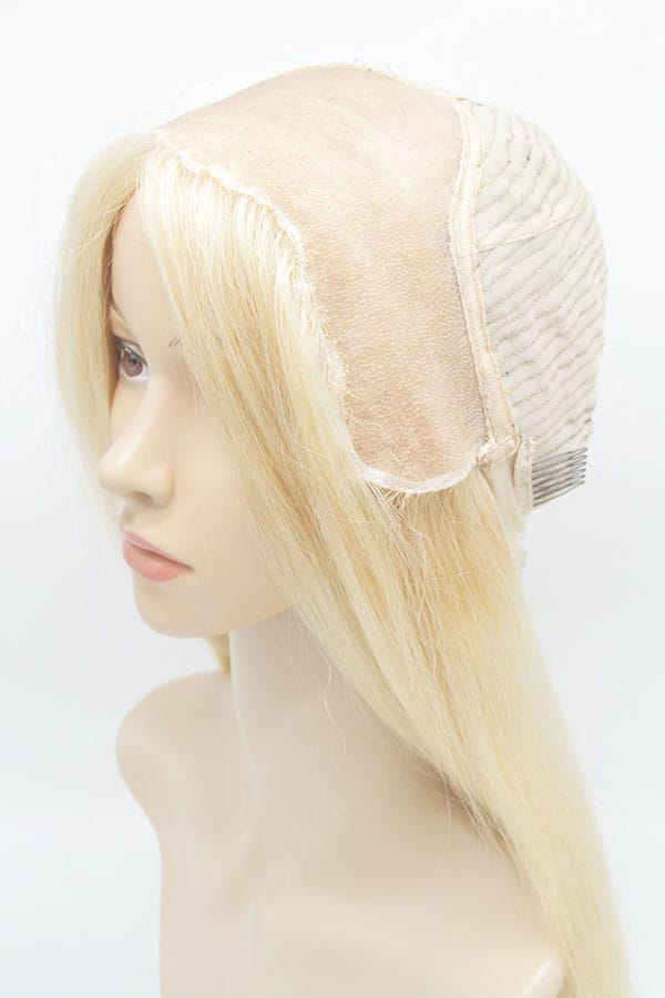 """Ombre Blond Wig Mono Lace 24"""" 180% Density"""