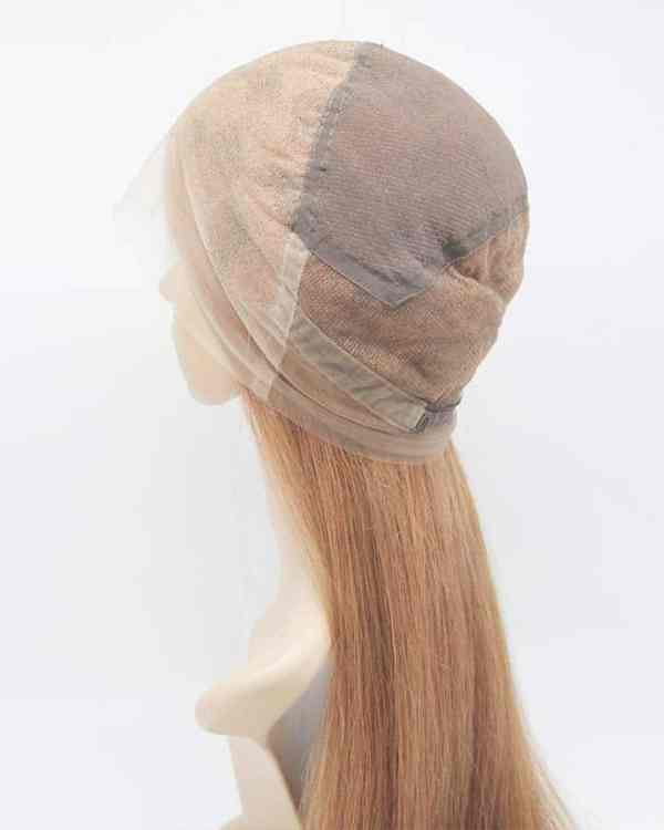 """24"""" Full Lace Wig HD Lace 180% Density Color #6c/10"""