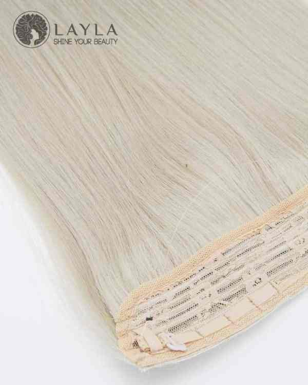 """18"""" Halo Human Hair Extensions Super Drawn Quality"""