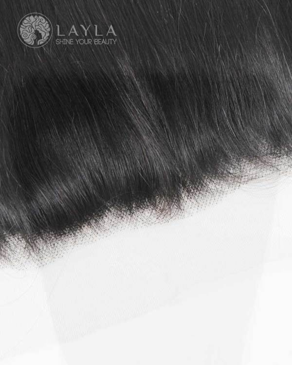 13x4 Lace Frontal Human Hair, Middle Part, Invisible HD Lace