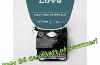 Quotes-life typewriter-story-summer