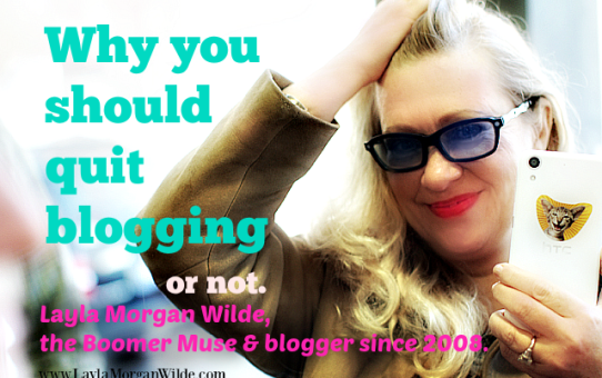 How to Quit Blogging Without Regret