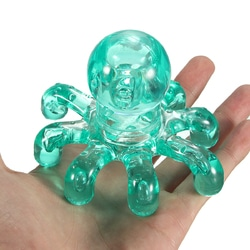 Octopus Hand Held Portable Massager Accessories Neck Body