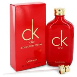 Ck One By Calvin Klein Eau De Toilette Spray (unisex Red Collector's Edition) 3.3 Oz (pack of 1 Ea)