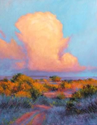 Thunderhead Over the Plateau