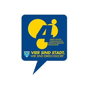 Werbeagentur Layoutriot referenzen: ebreichsdorf stadt logo