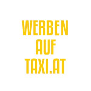 Werbeagentur Layoutriot referenzen: werben auf taxi logo