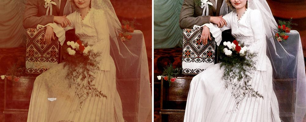 Misslyckade bröllopsbilder