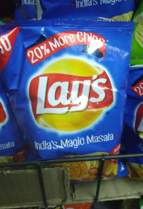 India's magic masala chips