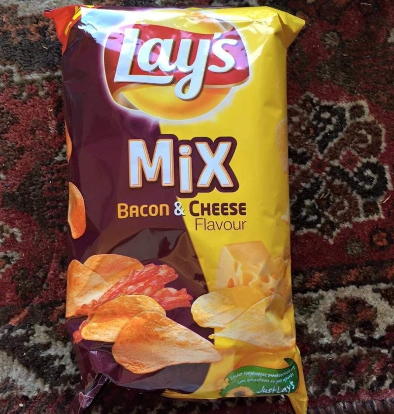 Bacon & cheese flavor