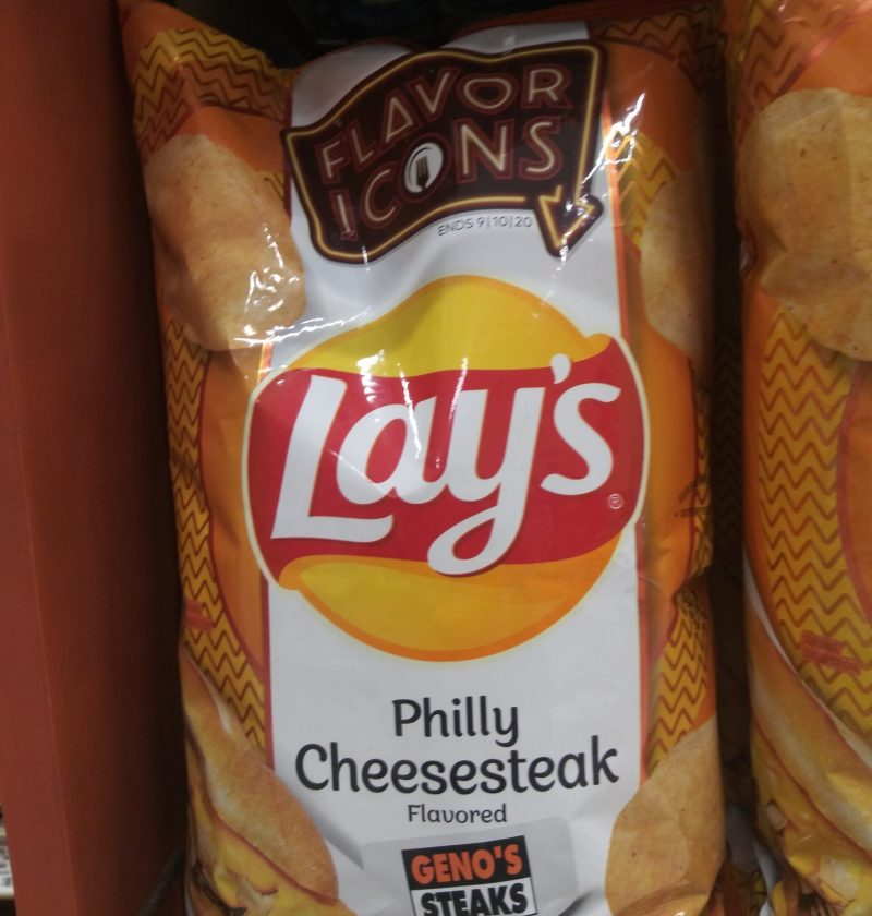 Philly cheesesteak flavor