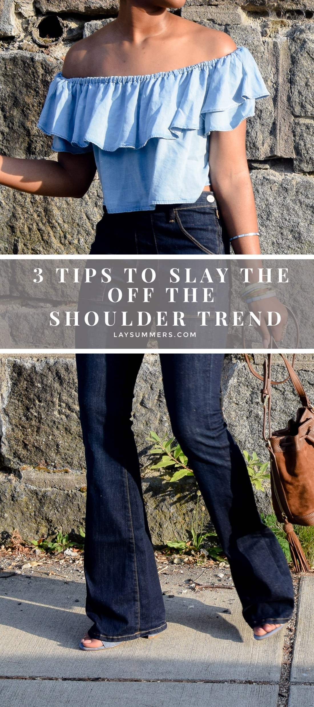 Tips To Slay the Off the Shoulder Trend