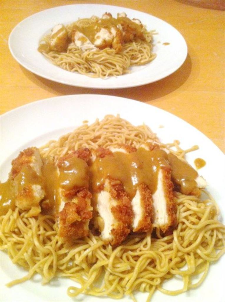 Chicken Katsu Curry (aka Chip-Shop Curry Sauce!), Lay The Table