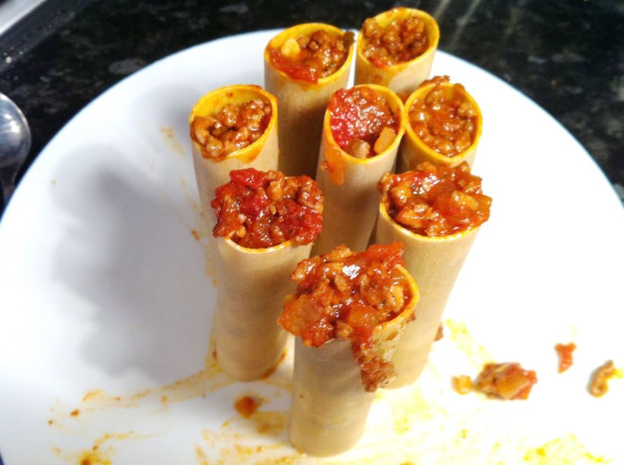 Beef Canneloni, Lay The Table