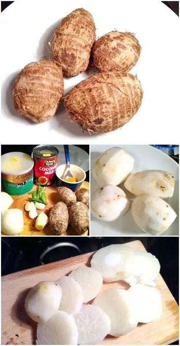 Eddoe & Coconut Curry, Lay The Table