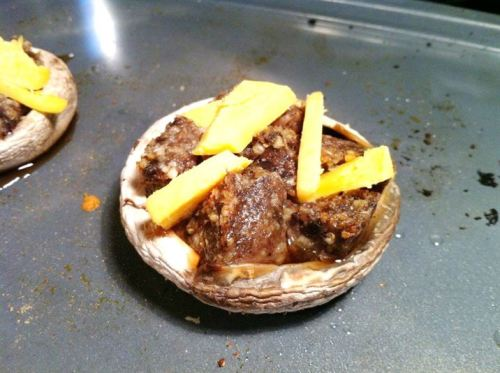 Burns Night Haggis-Stuffed Mushrooms with Whisky Cheddar, Lay The Table