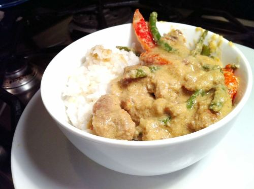 Thai Lamb Yellow Curry, Lay The Table