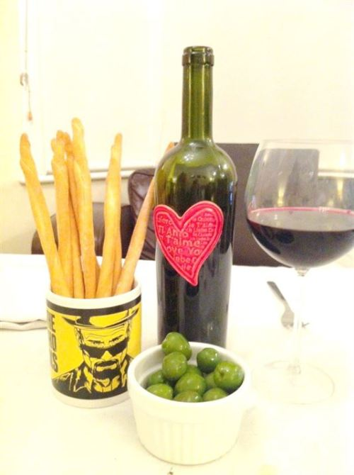 Valentines Day dinner¦delivered to your door!, Lay The Table