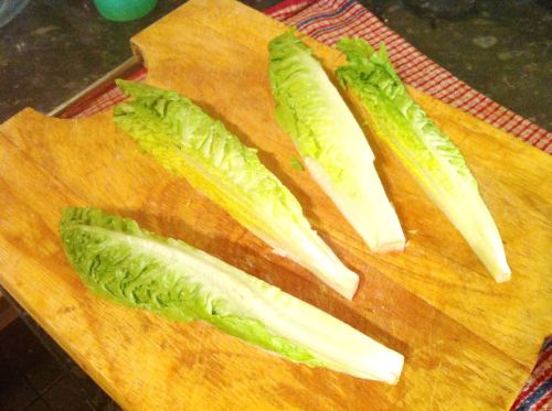 How to re-create Heston Blumenthal Dinners Sous Vide Chicken Breast with Braised Lettuce, Lay The Table