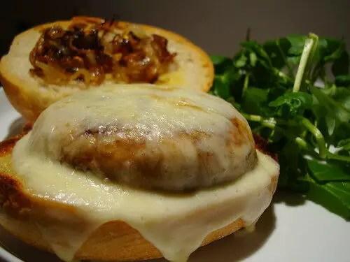 How To Make Field Mushroom Burgers, Lay The Table