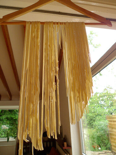 How To Make Fresh Egg-free Pasta, Lay The Table