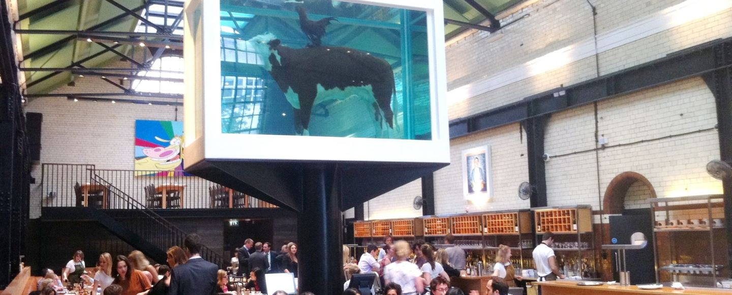 Dads Dining Club reviews Tramshed, Hoxton, London, EC4, Lay The Table