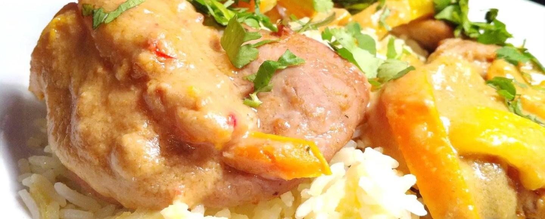 Sous Vide Pork Satay, Lay The Table