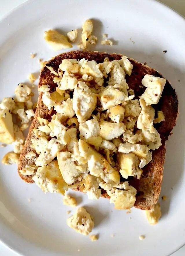 Super Eggy Tofu Scramble, Lay The Table