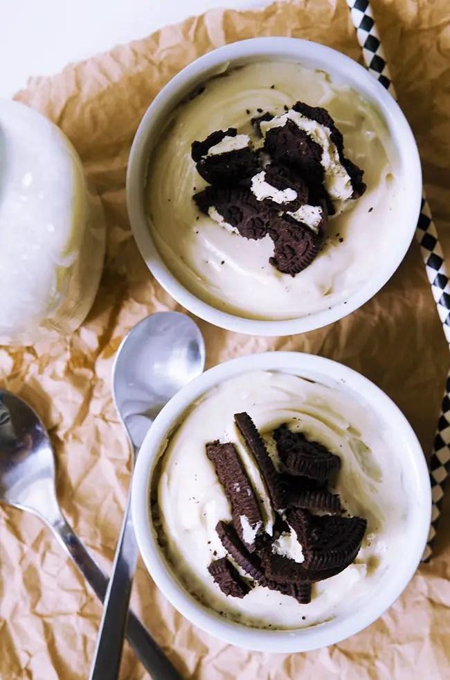 90 Second Vegan Cookies and Cream Mug Cake, Lay The Table