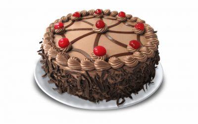 Tarta de chocolate pequeña