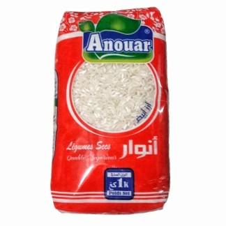 ارز طويل أنور 1كغ