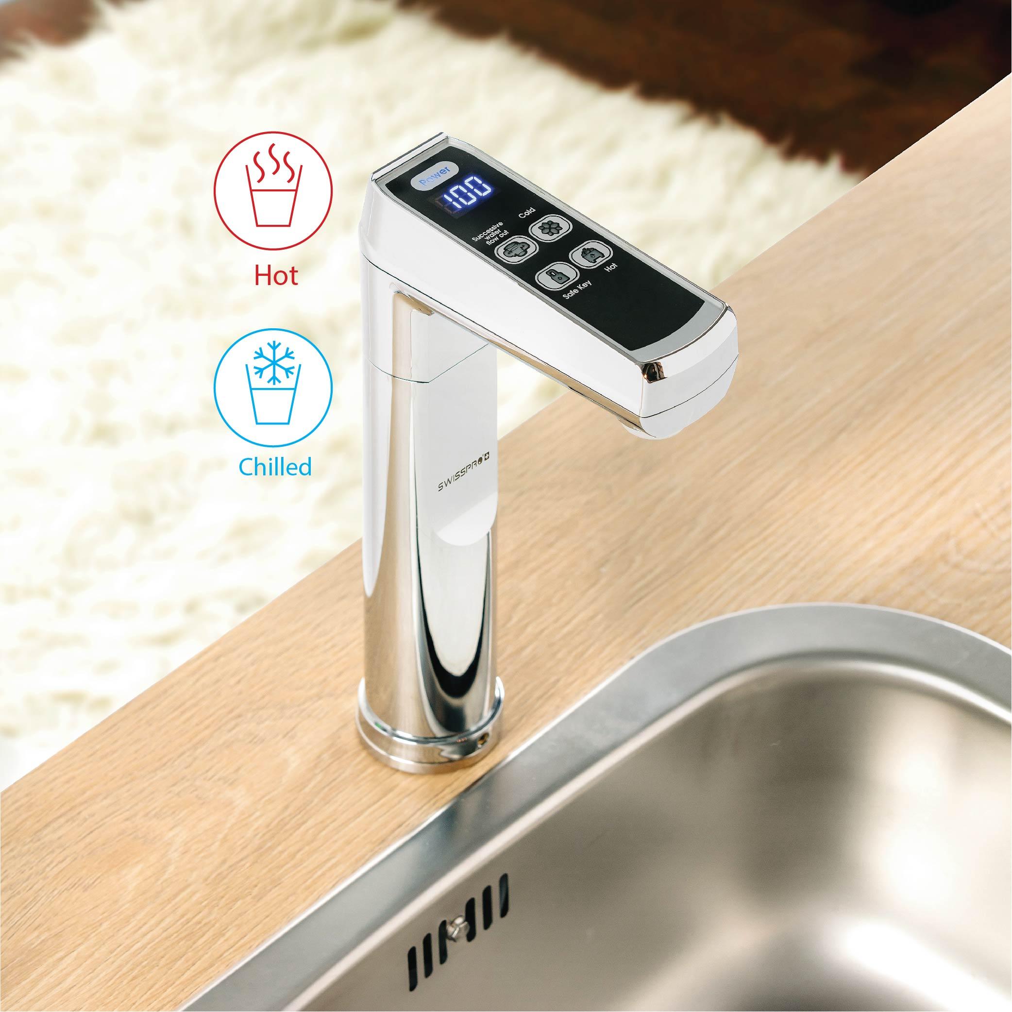 swisspro clima versa undersink hot cold water dispenser