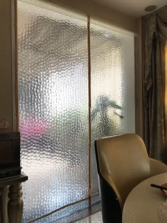 winter air conditioner door curtain translucent water cube plastic curtain windproof warm rainproof insulation dustproof partition lampblack