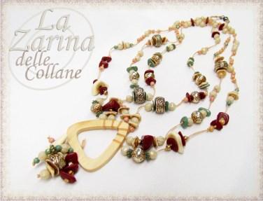 gioielli sud-orientali, collane originali, gioielli etnici, collane sei fili,