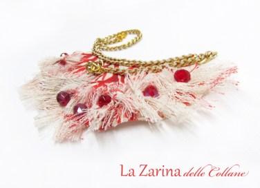 collier rosso corallo