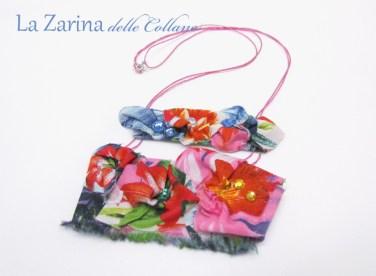 collana floreale leggera
