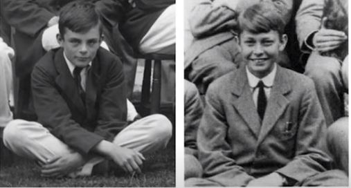 Alan Turing and Christopher Morcom