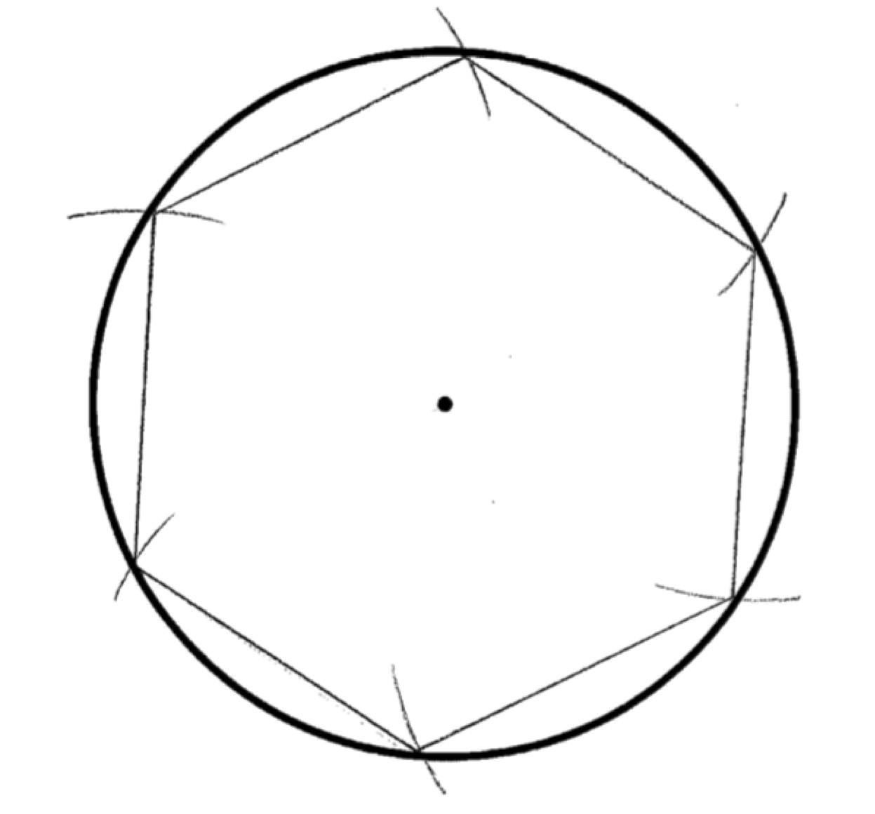 Exagon for pi