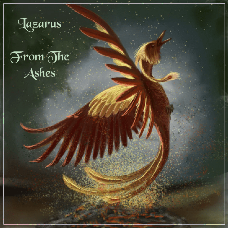 From The Ashes - Front Cover