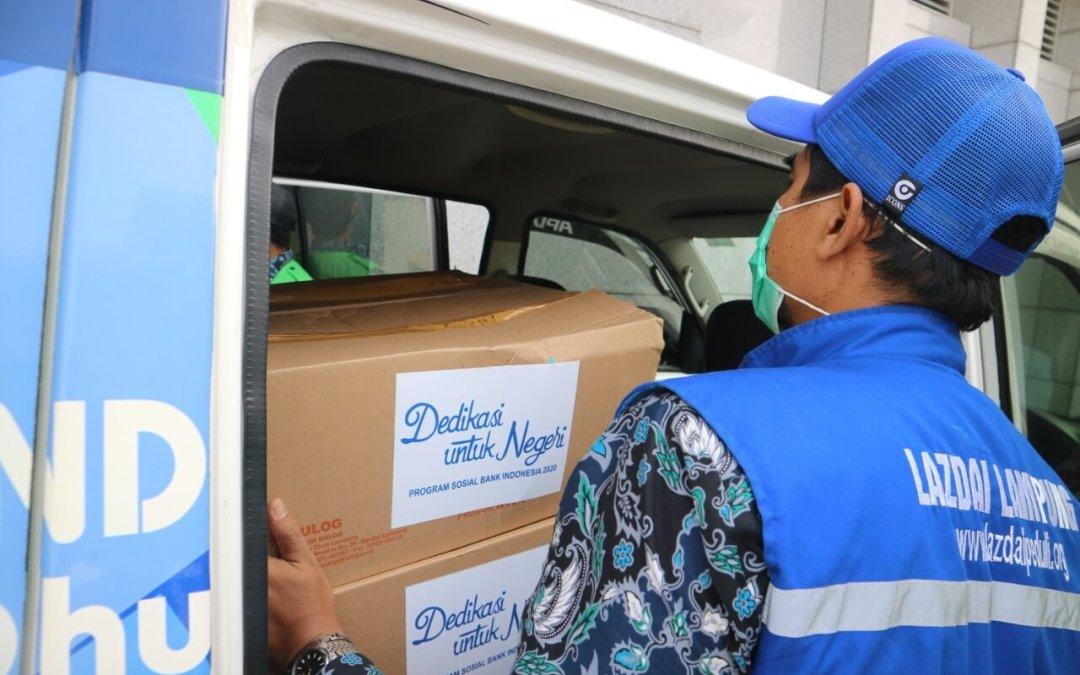 Dedikasi Untuk Negeri, Bank Indonesia KPW Lampung Salurkan 100 Paket Pangan Plus Melalui LAZDAI
